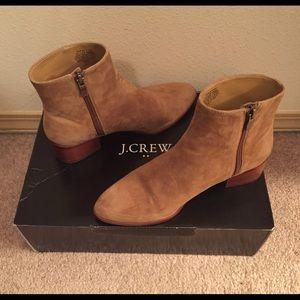 J. Crew Factory Walker Suede Boots
